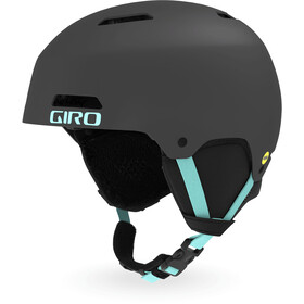 Giro Ledge FS MIPS Casque Homme, matte charcoal/cool breeze